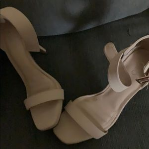 Nude colored heels from Cato